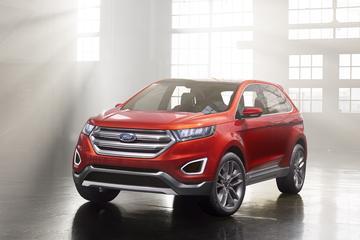 Ford Edge Concept kijkt uit naar Europees debuut