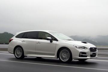 Subaru met vijf Levorgs naar Tokyo