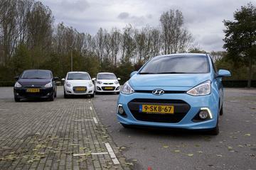Hyundai i10 - Suzuki Alto - Mitsubishi Space Star - Kia Picanto