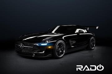 Dubbel geblazen: Rado Mercedes SLS Twin Turbo
