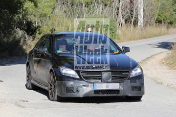Mercedes-Benz CLS 63 AMG facelift gekiekt