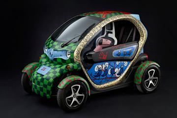 Kunstzinnige Renault Twizy voor goed doel
