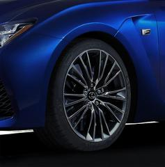 Lexus teast RC-F voor Detroit