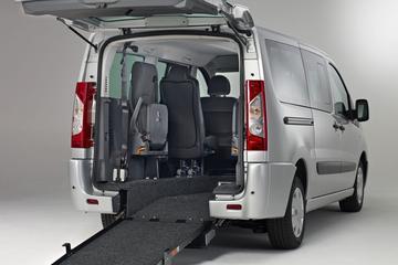 Gemak voor minder validen: Fiat Scudo Freedom Van