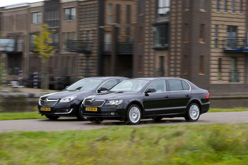 Skoda Superb - Opel Insignia