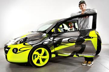 Opel veilt Adam van Valentino Rossi