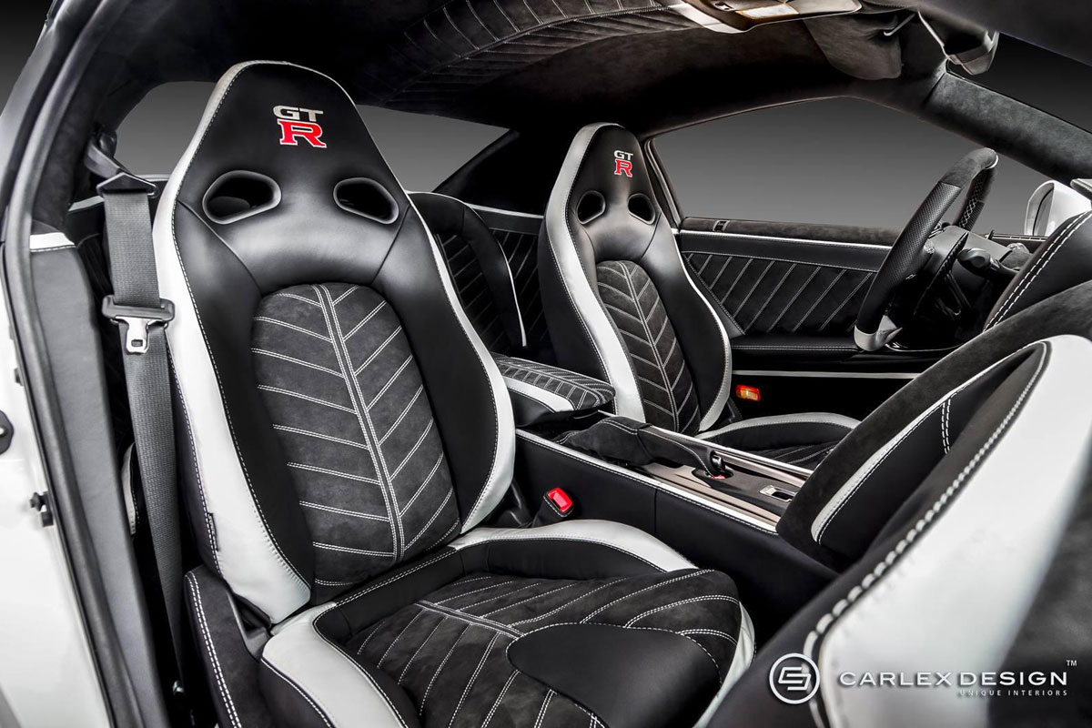 schoonheid zit binnen carlex nissan gt r autonieuws. Black Bedroom Furniture Sets. Home Design Ideas