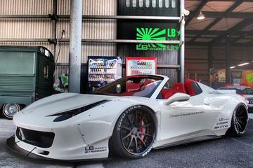 LB Performance Ferrari 458 met popnagels