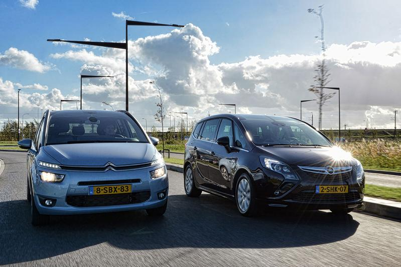 Dubbeltest - Citroën Grand C4 Picasso vs. Opel Zafira Tourer