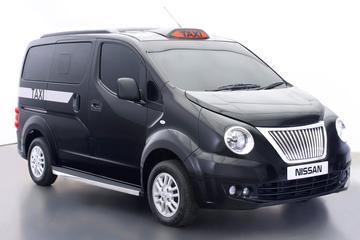 Lekker taxiën: Nissan NV200 voor Londen
