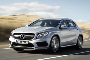 Productieklaar: Mercedes GLA 45 AMG