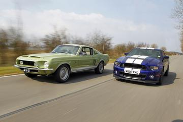 Oud & Nieuw: Ford Shelby GT500 KR (1968) - Ford Shelby GT500 (2013)
