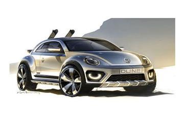 Volkswagen reïncarneert Beetle Dune