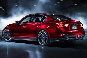Infiniti specificeert Q50 Eau Rouge