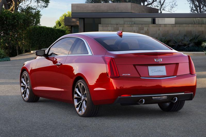 Dit is de Cadillac ATS Coupé