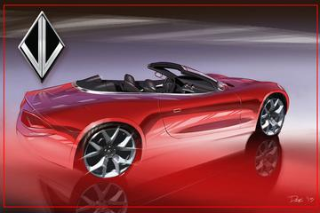 Nu ook Fisker Cabrio met Corvette V8