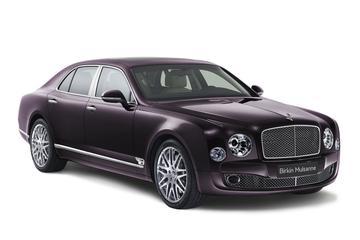 Bentley hangt prijs aan Mulsanne Birkin