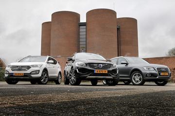 Audi Q5 - Hyundai Santa Fe - Volvo XC60
