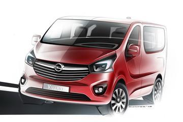 Opel Vivaro bereidt zich voor op introductie