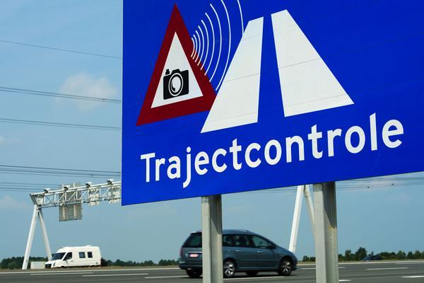Eerste trajectcontrole op N-weg gaat nu echt aan