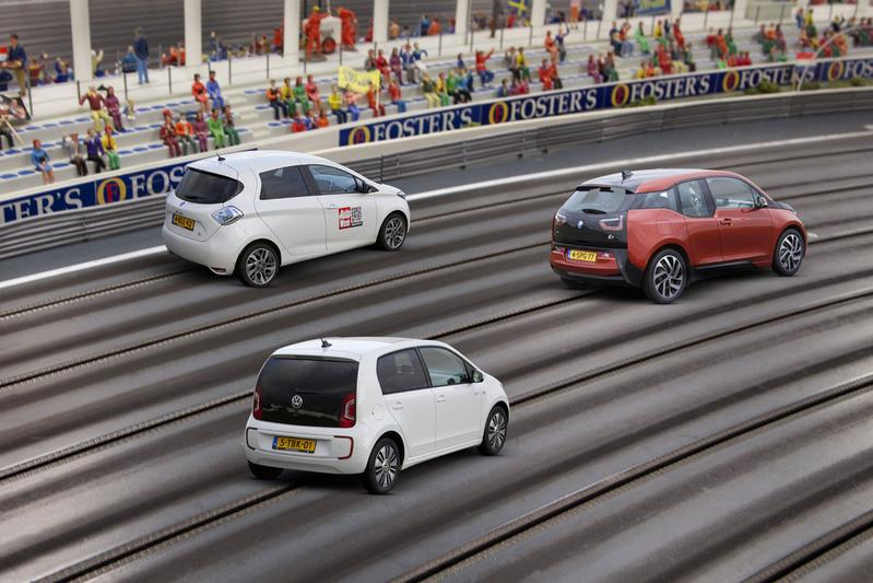 BMW i3 - Renault Zoe - Volkswagen e-Up
