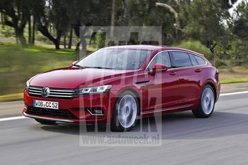 Journaal - Nieuwe VW CC ook als shooting brake