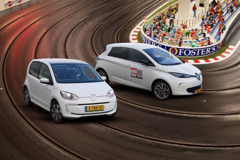 Dubbeltest - Renault Zoe vs. Volkswagen e-Up
