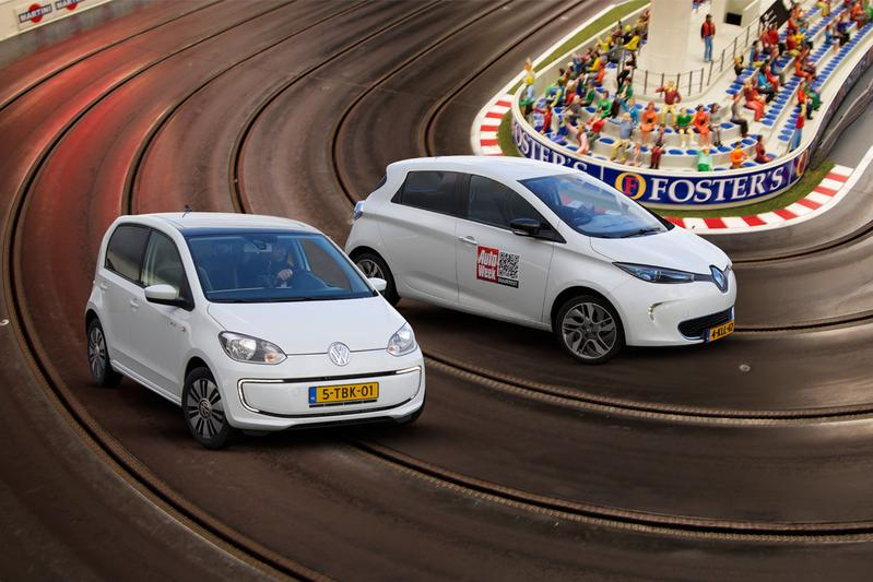 Dubbeltest - Renault Zoe vs. Volkswagen e-Up