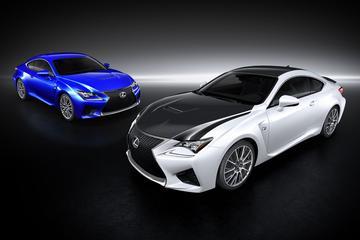 Lexus met twee stevige RC's naar Genève