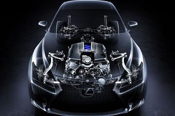 Lexus RC-F volgt voorbeeld GT-R