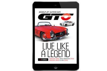 Geniet van de Mercedes SL in GTO CarZine 5