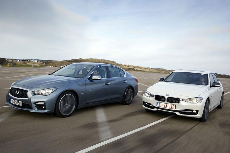 BMW Active Hybrid 3 - Infiniti Q50 S Hybrid