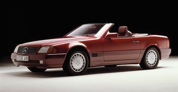 Genève 25 jaar terug: Mercedes-Benz SL