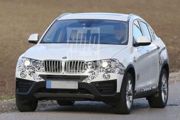 BMW X4 wordt langzaam uitgepakt