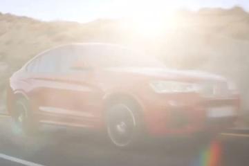 Ten overvloede: teaser BMW X4