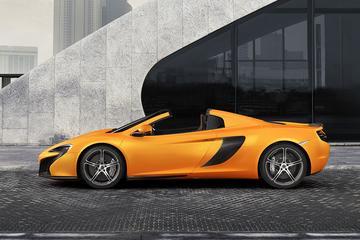 McLaren 650S nu ook als Spider