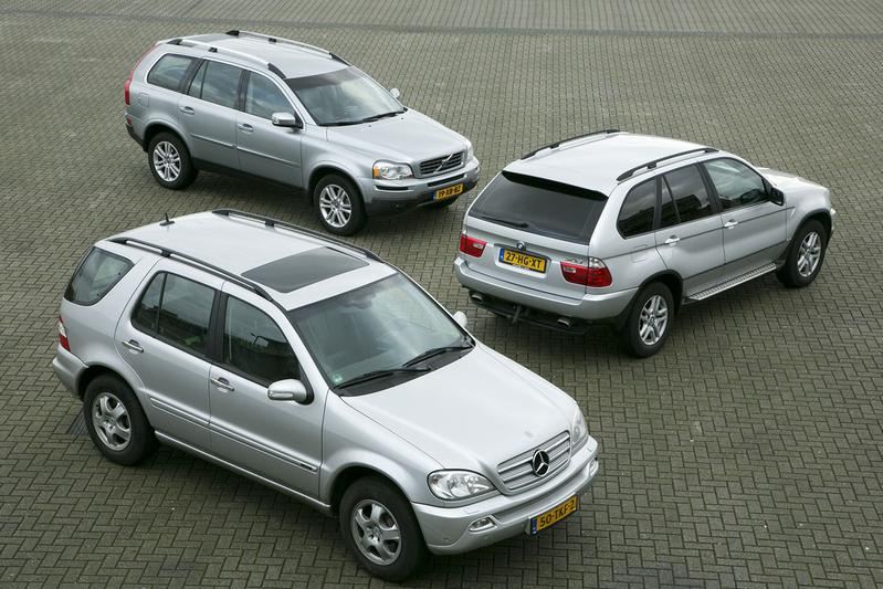 BMW X5 - Mercedes ML - Volvo XC90