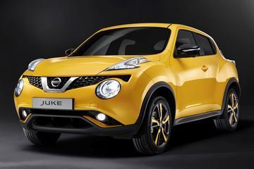 Nissan geeft Juke een opfrisser