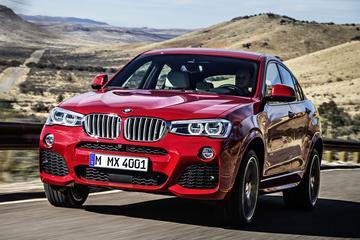 BMW M kleedt X4 en X3 verder aan
