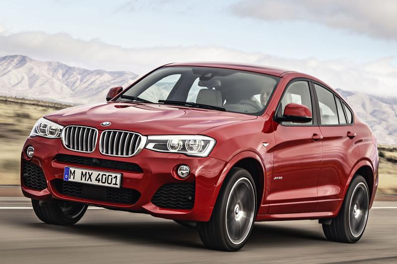BMW X4, het kleine broertje van de X6