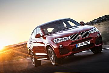 Nu alle prijzen voor BMW X4