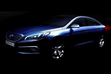 Hyundai geeft voorproefje op nieuwe Sonata