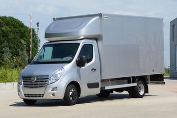 Opel Movano nu ook met Citybox