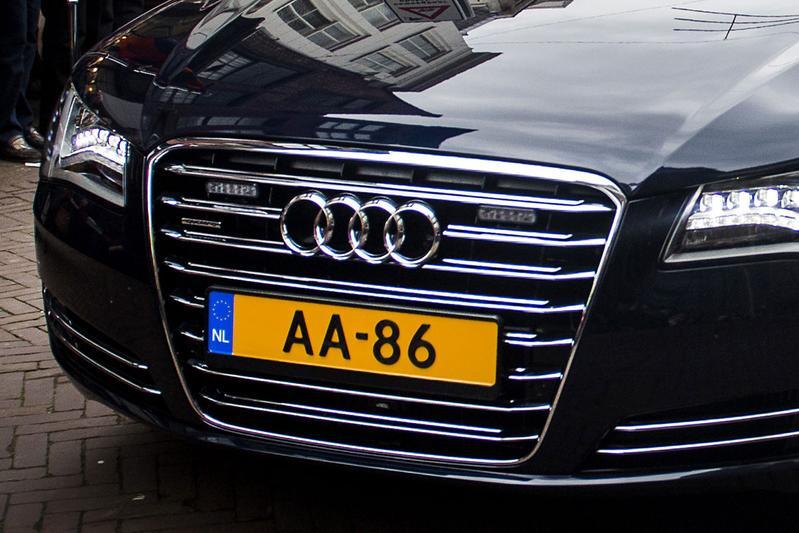 Audi A8 Willem-Alexander (foto ANP)