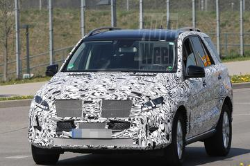 Mercedes stoomt ML facelift klaar