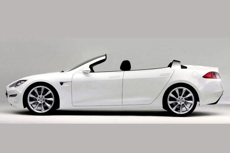 NCE bouwt Tesla Model S om naar cabrio