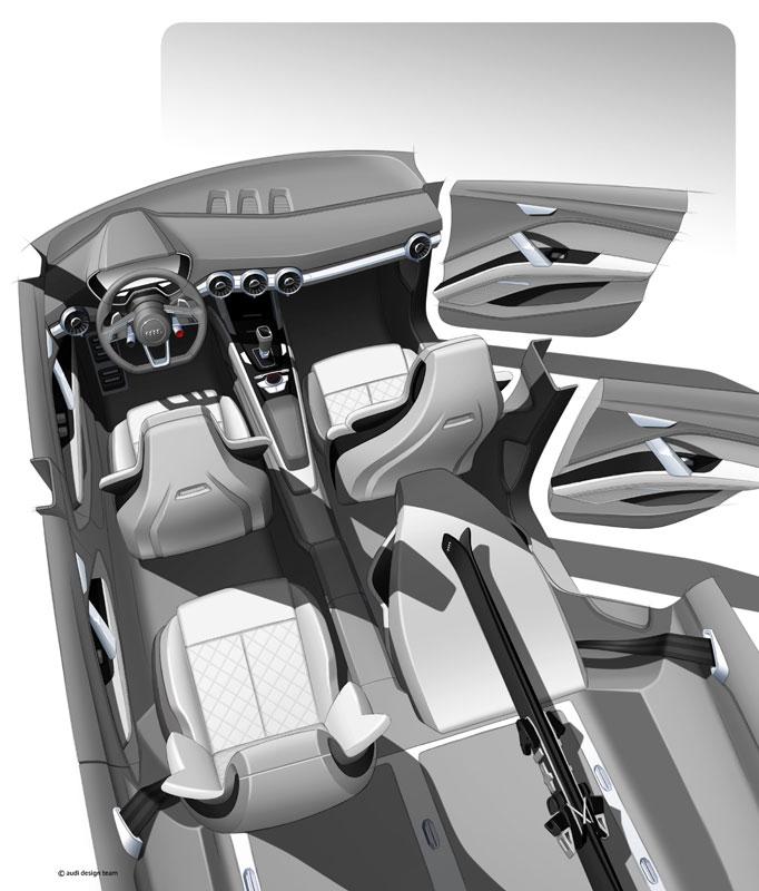 audi q4 concept mikt op porsche macan autonieuws. Black Bedroom Furniture Sets. Home Design Ideas