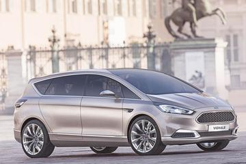 Ford S-Max Concept met luxe Vignale-saus