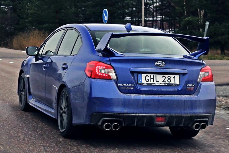Rij-impressie Subaru WRX STi
