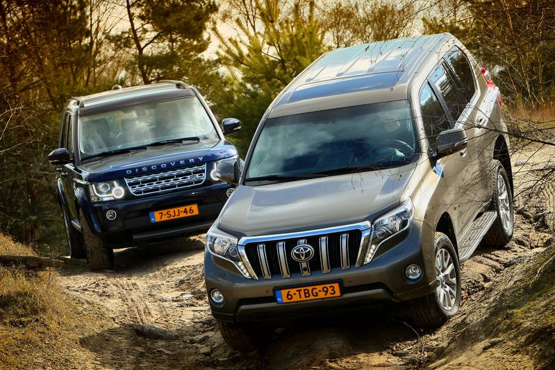Land Rover Discovery - Toyota Land Cruiser